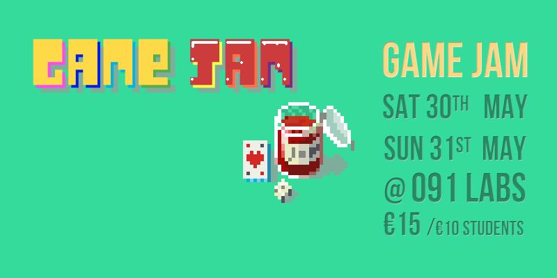 Game Jam Banner 29-31 May 2015