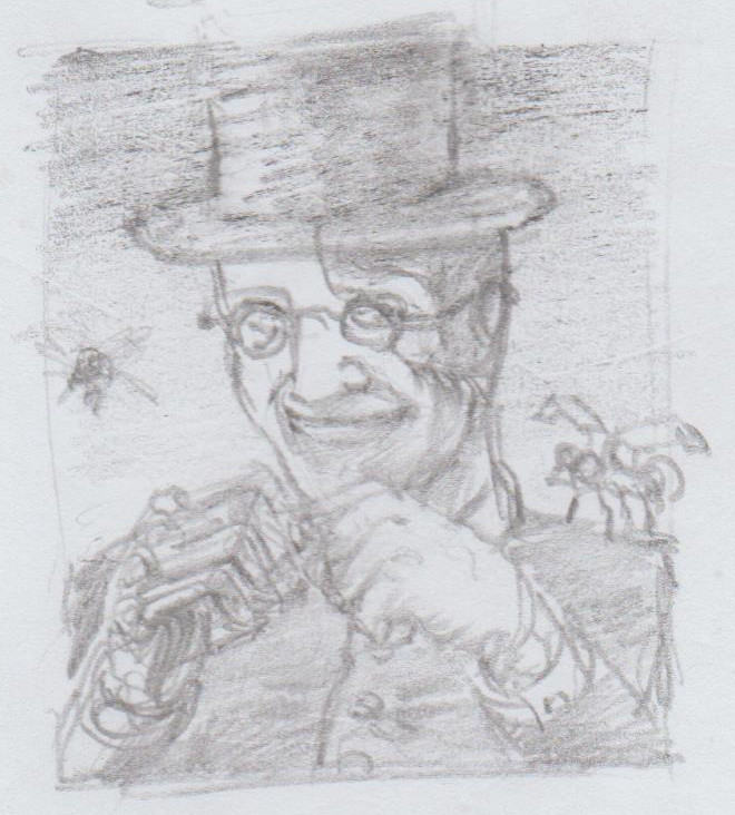 Dr. Di'Angelo Portrait Sketch