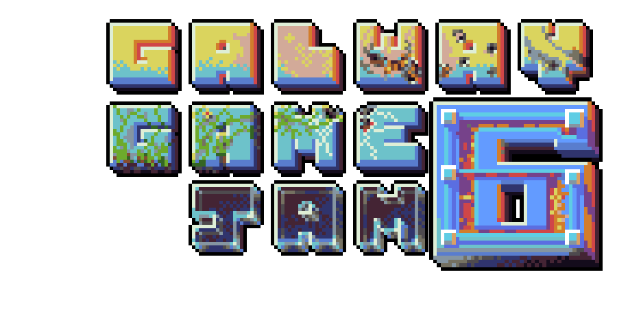 Galway Game Jam 6 pixel art
