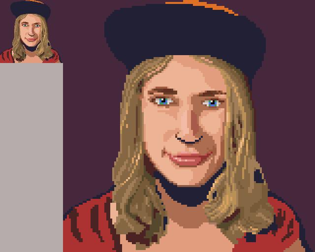Pixelart Portrait @hifiserious